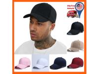 Premium Quality Ulzzang Basic Plain Unisex Adjustable Baseball Cap