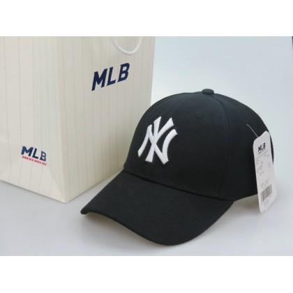 MLB New York NY Yankees Men Women Baseball Cap with adjustable strap ( Black )