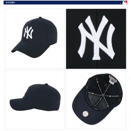 MLB New York NY Yankees Men Women Baseball Cap with adjustable strap (Dark Blue)