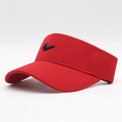 Nike Men Women Unisex Sports Tennis Golf Jogging Marathon High Quality Polyester Visor Cap