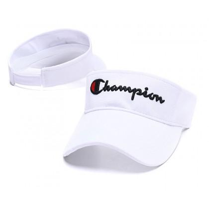 Champion Men Women Unisex Sports Tennis Golf Jogging Marathon Visor Cap