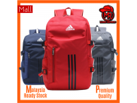 Adidas 2 tones color Unisex Men Women Laptop Travel School Outdoor Sports Casual Secondary College Student Backpack Bag