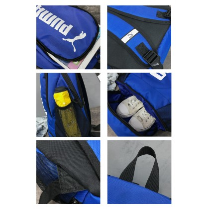 Puma_bag Men Women School Laptop Backpack Outdoor Casual Travel Student Casual Secondary College University Student Bag