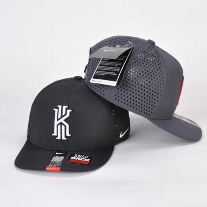 Nike Kyrie Irving KI NBA Basketball Hip Hop Casual Men Women Unisex SnapBack Cap with adjustable strap