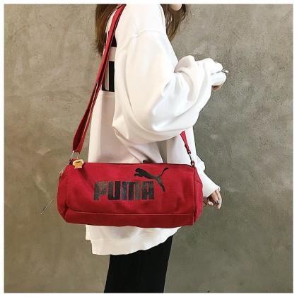 Puma Fashion Unisex Men Women Casual Small Canvas Sling Bag