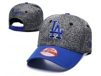 New Era LA Dodgers Los Angeles Men Women Baseball Cap with adjustable strap (Grey)