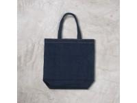 Jeans Cotton Denim LE VIS Men Women Travel Shopping Shoulder Sling Canvas Handbag Tote Bag
