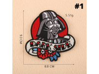 Star Wars Patch DIY Sew On Iron On Badges Cotton Embroidery Embroidered Patches