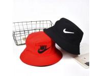 Nike Two Side 2 Color Reversible Unisex Men Women Cotton Bucket Hat Cap