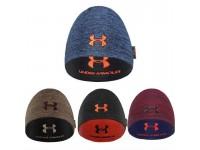 Under Armour UA Sports Men Women Unisex Reversible Knit Cap Soft Cotton Skull Cap Beanie Hat Topi