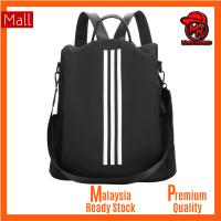 Adidas 3 stripes Unisex Men Women Ladies Travel School Outdoor Casual Secondary College Student Medium Backpack Bag