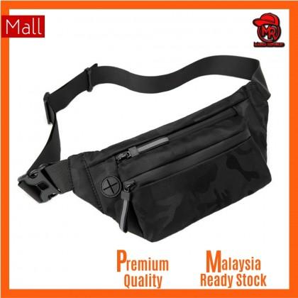 Premium Quality Blank Basic Camouflage Men Women Unisex Waist Chest Sling Cross Body Small Bag