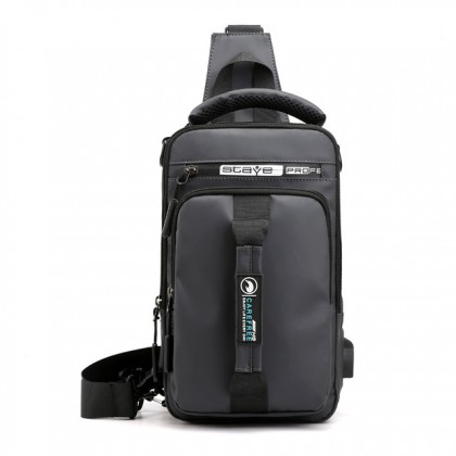 Multi Use  3 in 1 Water Resistant Messenger Men Women Unisex Fashion Casual Cross Body Shoulder Chest Sling Backpack Bag