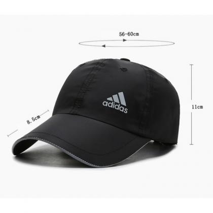 Adidas Dri Fit Dry Fit Quick Dry Light Weight Unisex Men Women Sports Golf Jogging Marathon Adjustable Baseball Cap